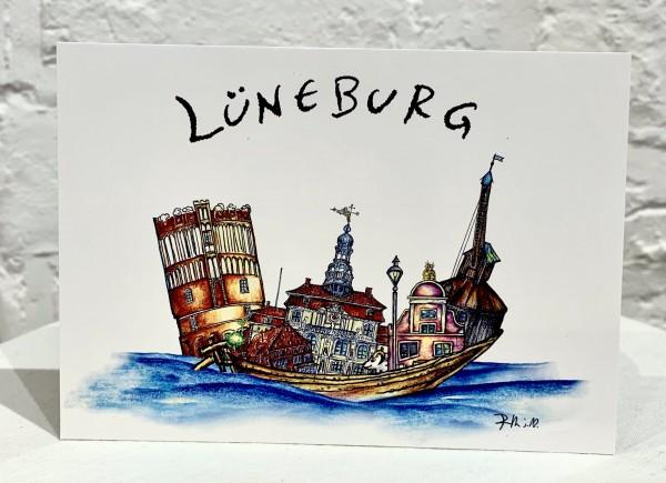 Postkarte Lüneburg