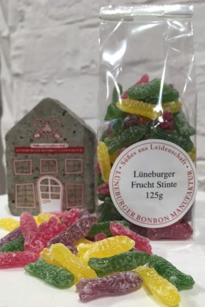 Lüneburger Frucht Stinte, 125g Beutel