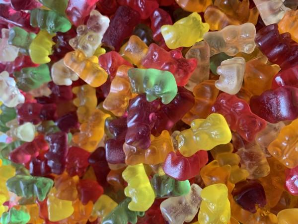 Zuckerfreie Gummi-Bären
